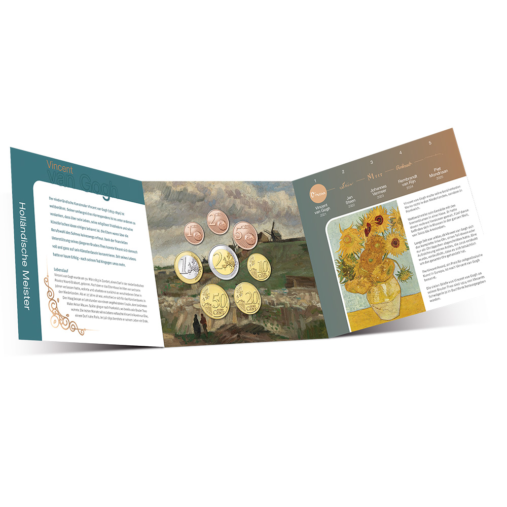 2021 numismatic program of the Netherlands Mint (KNM)