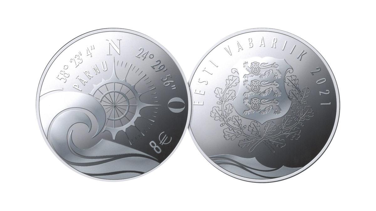 Programme numismatique 2021 de l'Estonie