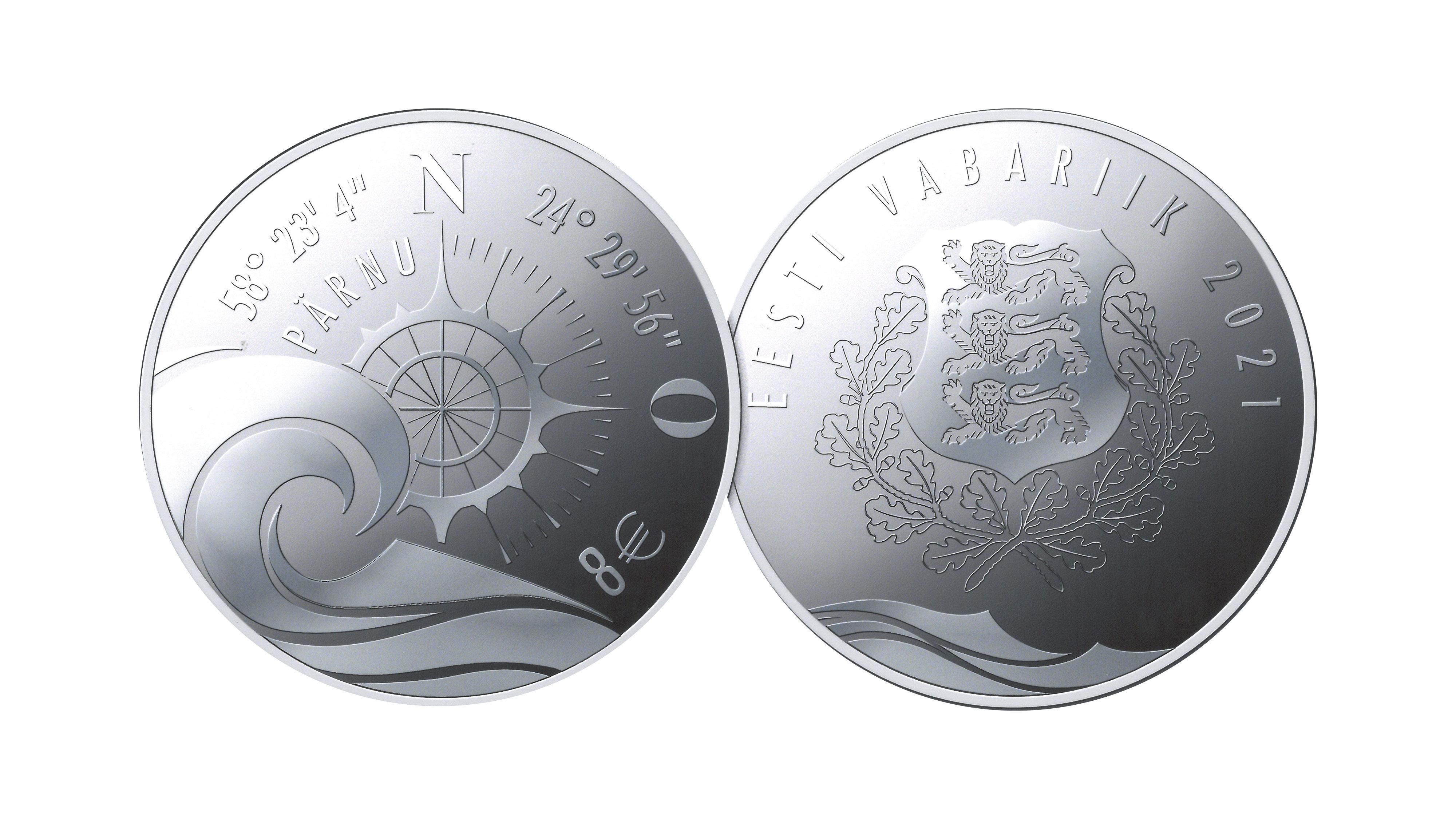 2021 estonian numismatic program