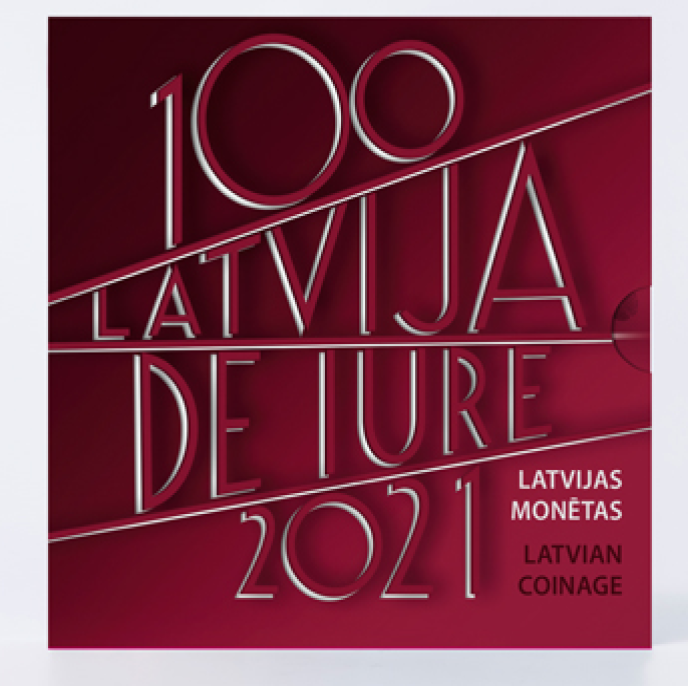 "Latvia 2021 numismatic program - ""De iure recognition of Latvia"""