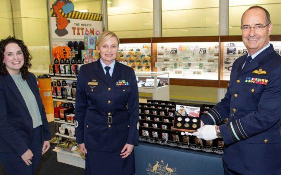 """Australia: RAAF centenary coins, """"Heroe of the skies"""""""