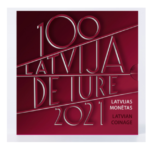 "Latvia 2020 numismatic program - ""De iure recognition of Latvia"""