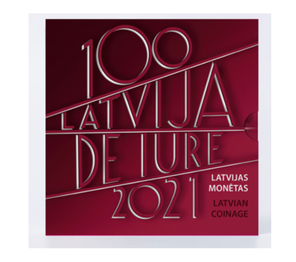 "Latvia 2021 numismatic program – ""De iure recognition of Latvia"""