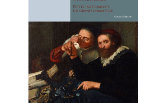 Livre consacré aux poids et balances monétaires de Gildas SALAUN