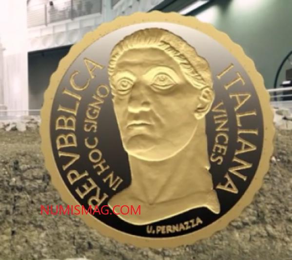 Programme numismatique 2021 de l'Italie