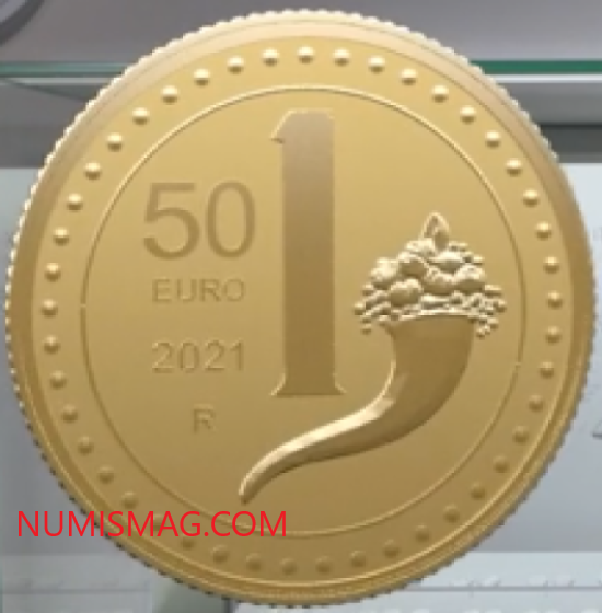 2021 numismatic program of Italy