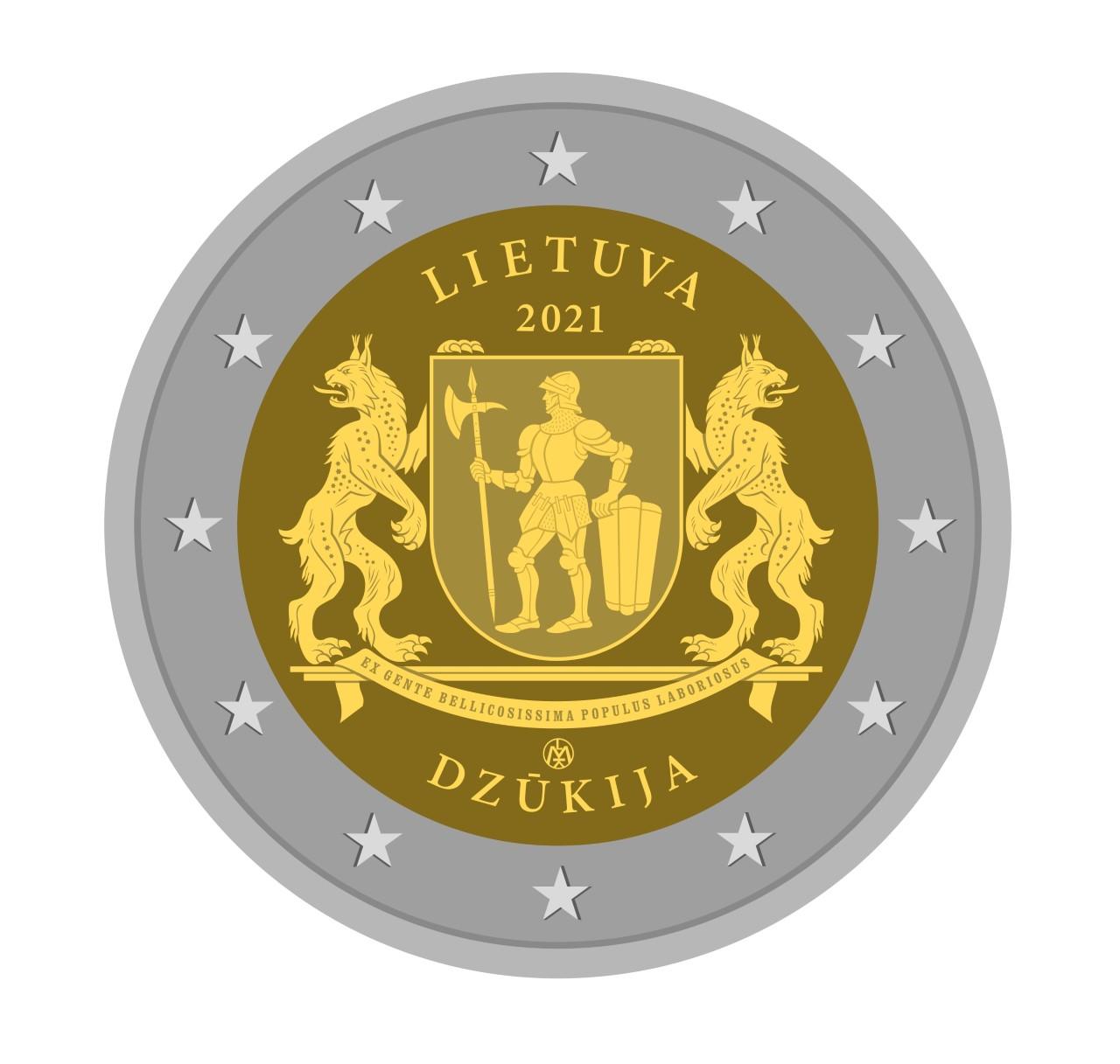 Artist Rolandas RIMKUNAS about DZUKIJA €2 commemorative coin genesis