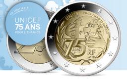 2€ COMMÉMORATIVE  UNICEF 2021 – Monnaie de Paris