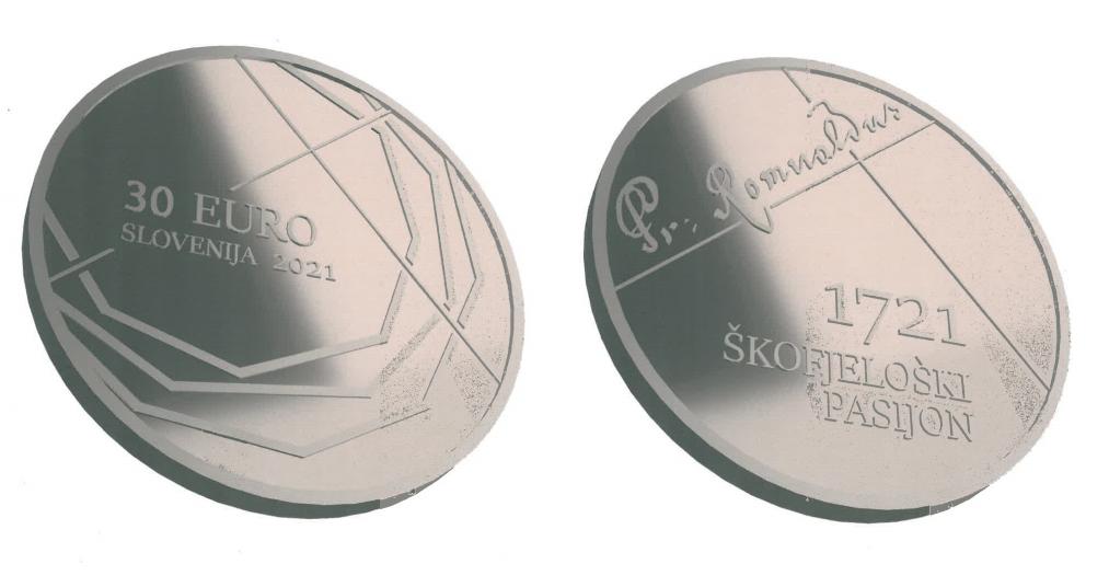 Programme numismatique 2021 de la Slovénie