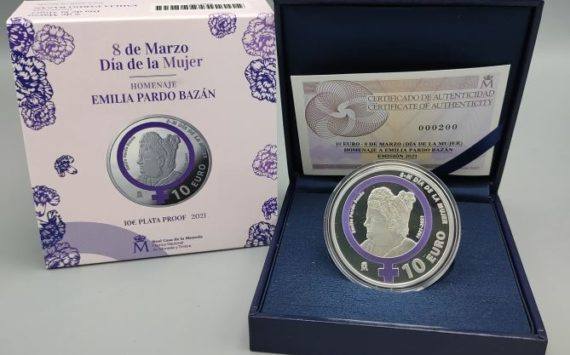 10€ 2021 espagnole célébrant Emilia Pardo Bazán