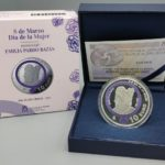 2021 spanish €10 coin - Tribute to Emilia Pardo Bazan