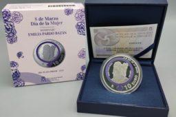 2021 spanish €10 coin – Tribute to Emilia Pardo Bazan