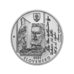 2021 slovak €10 - 200 years since the birth of Janko MATUSKA