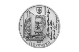 2021 slovak €10 – 200 years since the birth of Janko MATUSKA