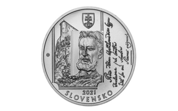 2021 slovak €10 – 200 years since the birth of Janko MATUSKA