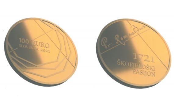 2021 Slovenia numismatic program