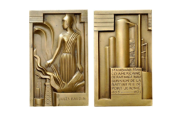 La médaille Standard franco-américaine de raffinage par G. MIKLOS (1934)