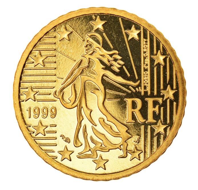 Tirages et Valeurs des pièces de 50centimesd'euro, 50cents, France - pièces de circulations, BU, FDC