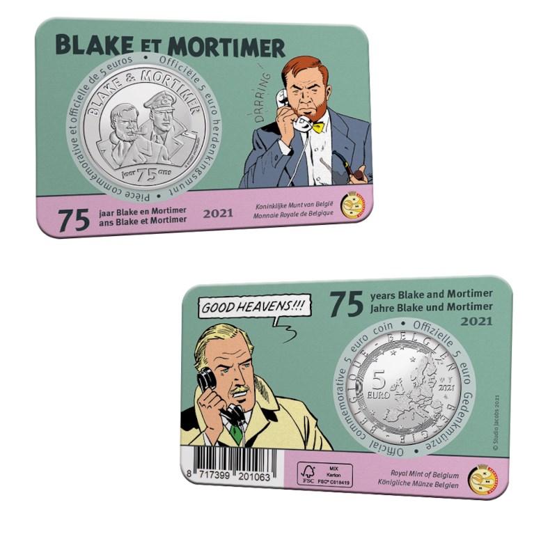 """Royal belgian mint honors """"Blake and Mortimer"""" comic"""