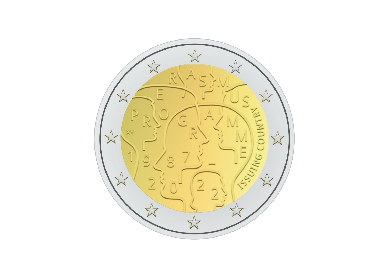2€ Erasmus 2022 Commémoration du 35e anniversaire d'Erasmus - Concours