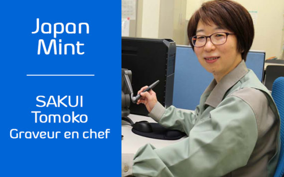 JAPAN MINT's engraver SAKUI Tomoko – exclusive interview