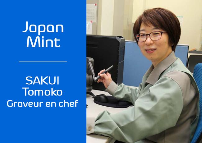 Interview exclusive de SAKUI Tomoko, graveur en chef de la JAPAN MINT