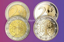 Mintages and worth of french €2 coins (UNC – BU – proof)