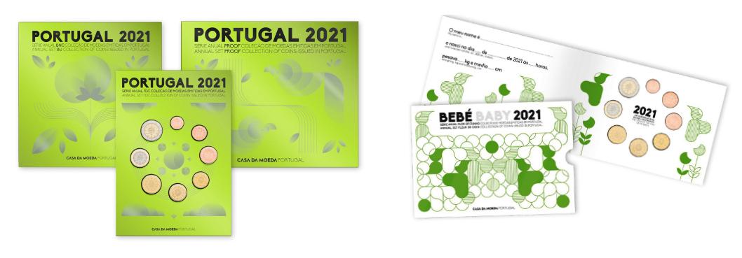 Programme numismatique 2021 du Portugal