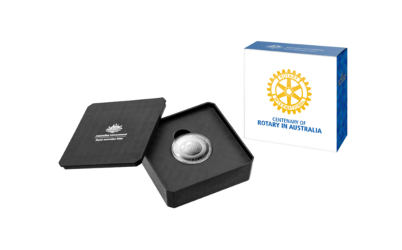 Commemorative coins – 2021 Centenary of Rotary in Australia