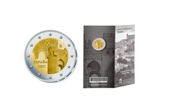 2021 €2 spanish proof Commemorative Coin is unveiled by FNMT