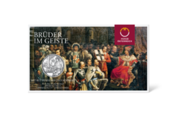 €10 teutonic order and brotherhood from austrian Mint