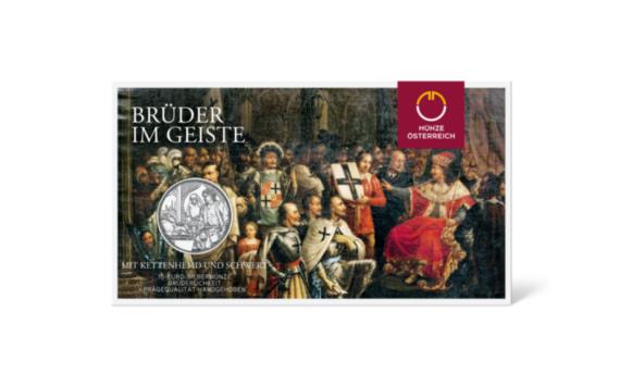 10€ 2021 chevaliers teutoniques et fraternité – Monnaie d'Autriche