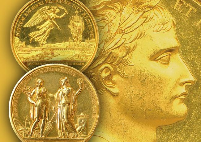 Médailles période du consulat et 1er Empire – Bicentenaire de Napoléon Bonaparte