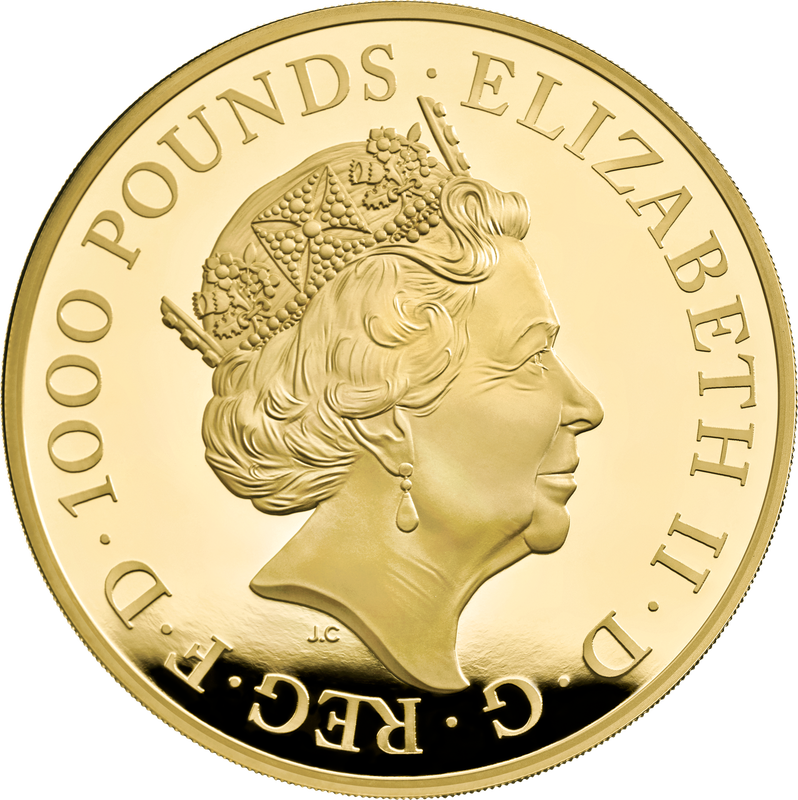 2021 Queen beast by Royal Mint