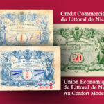 PROVENCE, ALPES, COTE D'AZUR - Les bons de l'Union économique du littoral de Nice – Catalogue et cotation