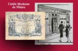 LANGUEDOC-ROUSSILLON – Les bons du Crédit Moderne de Nîmes Union Economique – Catalogue et cotation
