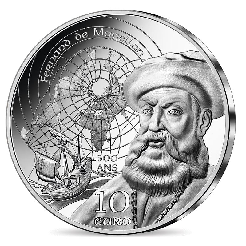 Pièces MAGELLAN ET AGE MANUELIN UNESCO 2021 - Monnaie de Paris