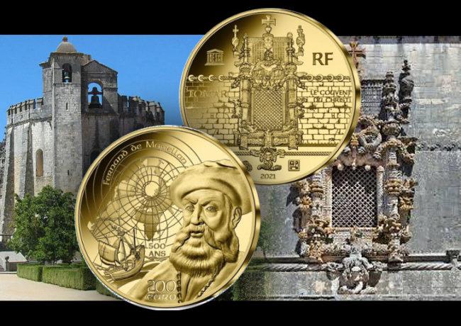Pièces MAGELLAN ET AGE MANUELIN UNESCO 2021 – Monnaie de Paris