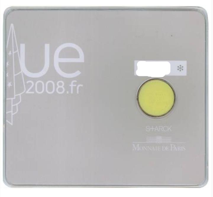France: 2008 european council presidency €2 commemorative coin