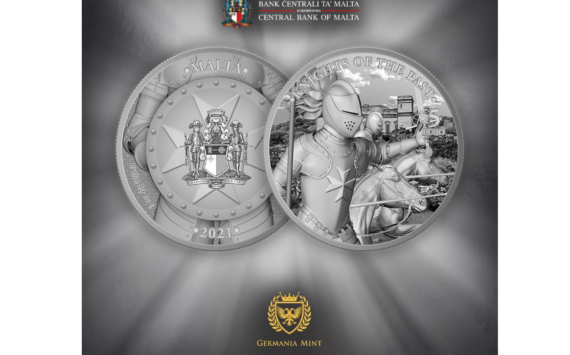 MALTA: 2021 Knights of the past new bullion coins series