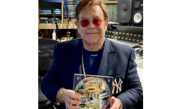 Royal Mint: Vente aux enchères de la médaille de 5kg en argent Elton JOHN