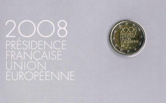 France: 2€ Présidence du Conseil de l'Union Européenne 2008