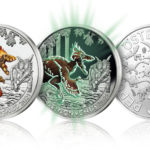 2021 austrian €3 coin dedicated to Deinonychus antirrhopus