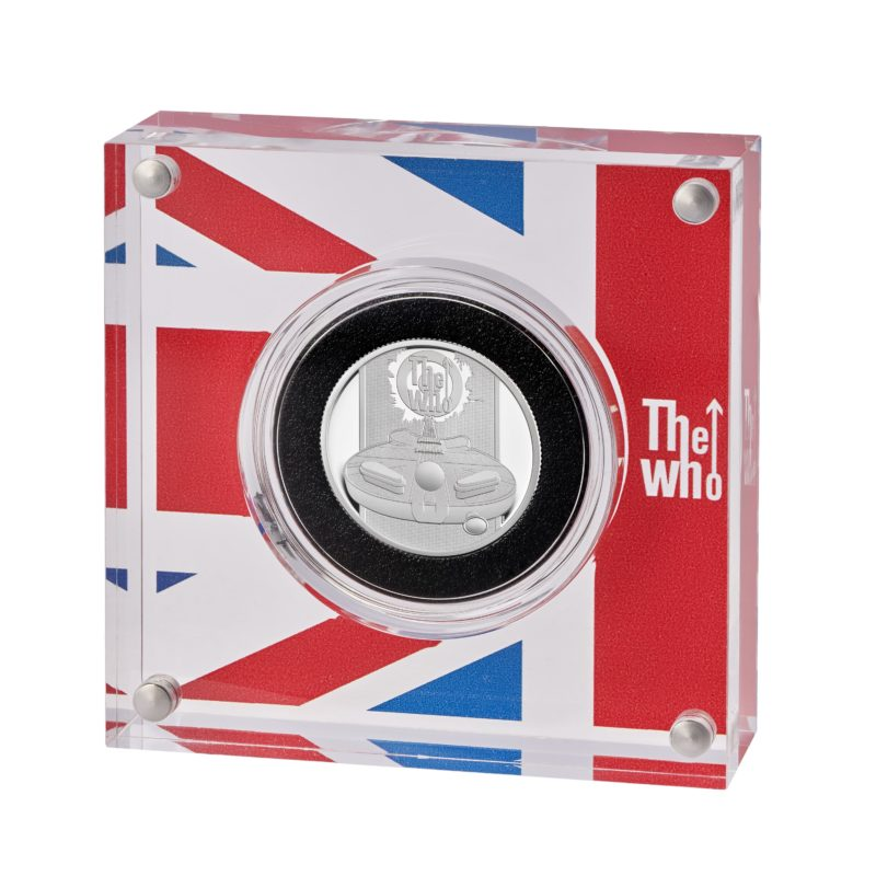 """Music legends' series: Royal Mint strikes coins to honor """"THE WHO"""""""