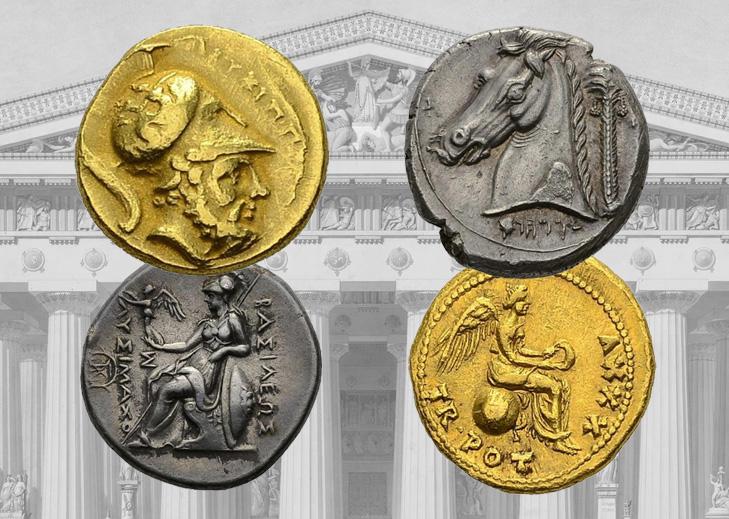 Belle vente de monnaies Antiques – Maison de vente Chaponnière & Firmenich SA