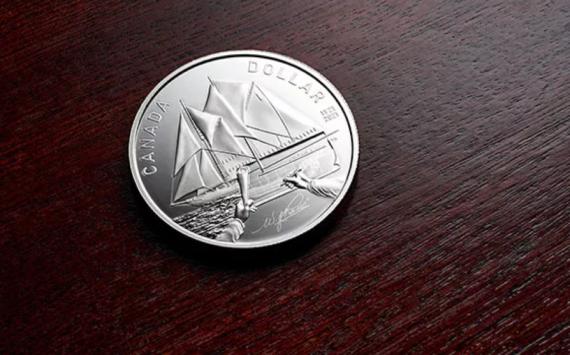 La Monnaie Royale du Canada célèbre les 100 ans du navire «le Bluenose»