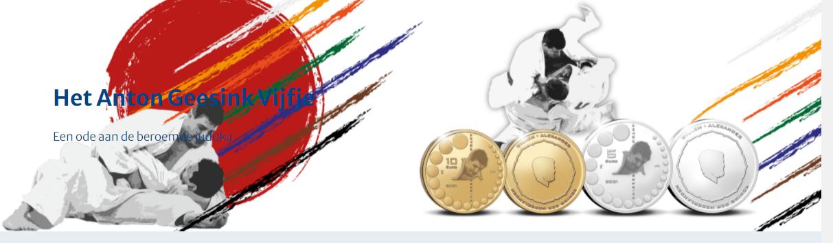 LA KNM rend hommage au judoka ANTON GEESINK en 2021