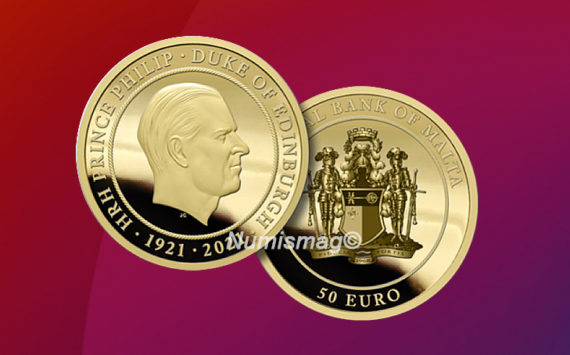 €50 gold coin celebrating Prince Philip