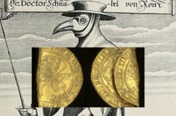 Découverte d'un Léopard or, révélée en Grande Bretagne dans le NORFOLK