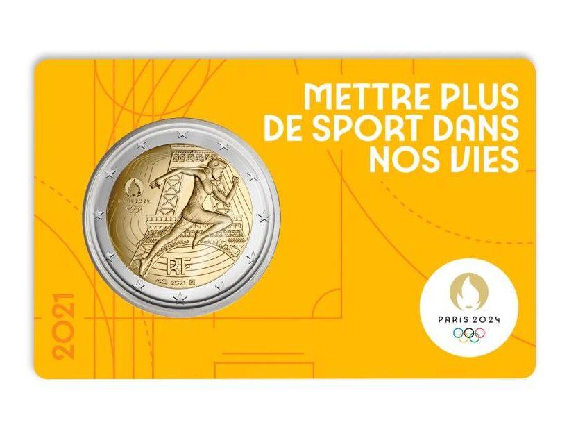 """""""2024 - Paris Olympic Games"""" by Monnaie de Paris"""